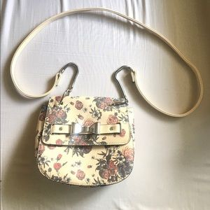 Candie's Floral Crossbody Bag